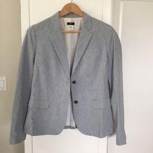 Jcrew womens cotton blazer